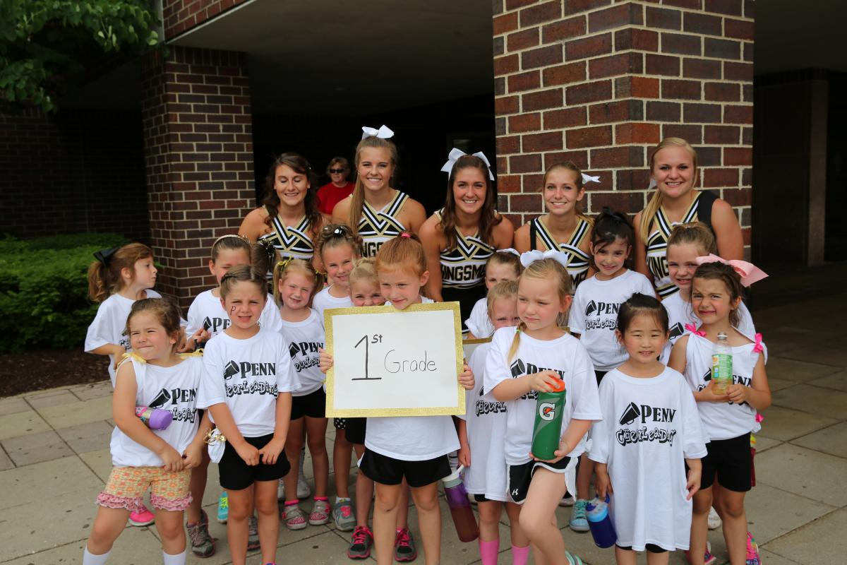 Penn Cheerleading camp