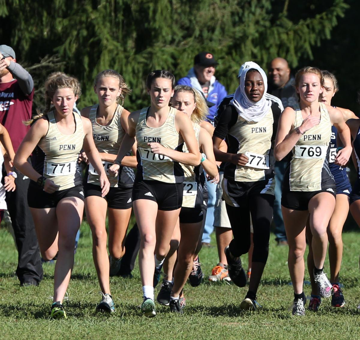 Penn Girls Cross Country.