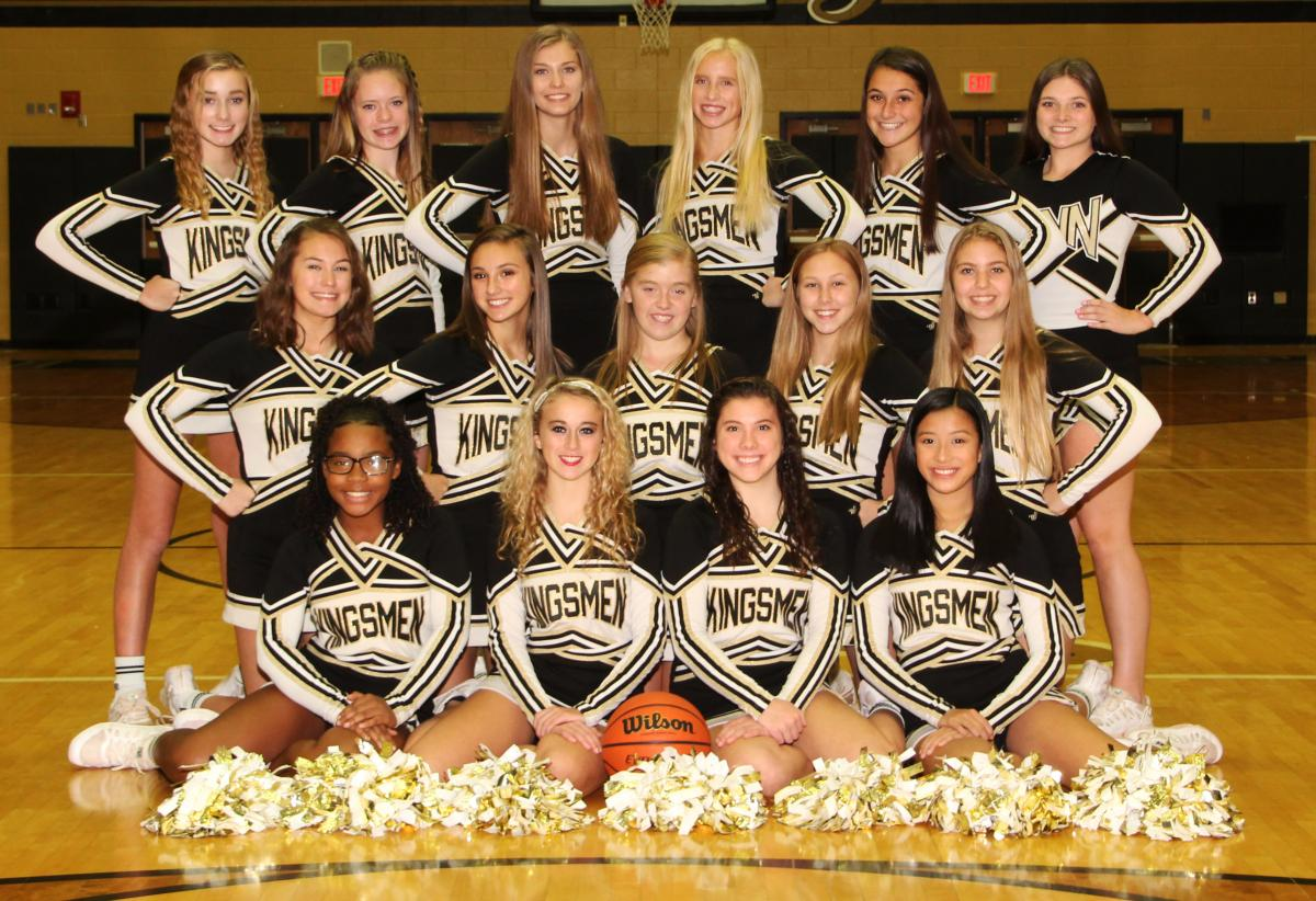 JV Cheer Team.