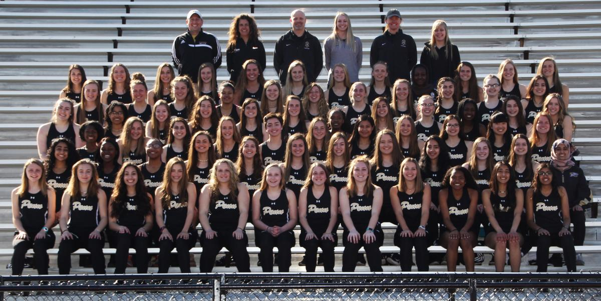 The 2019 Penn Girls Track Team.