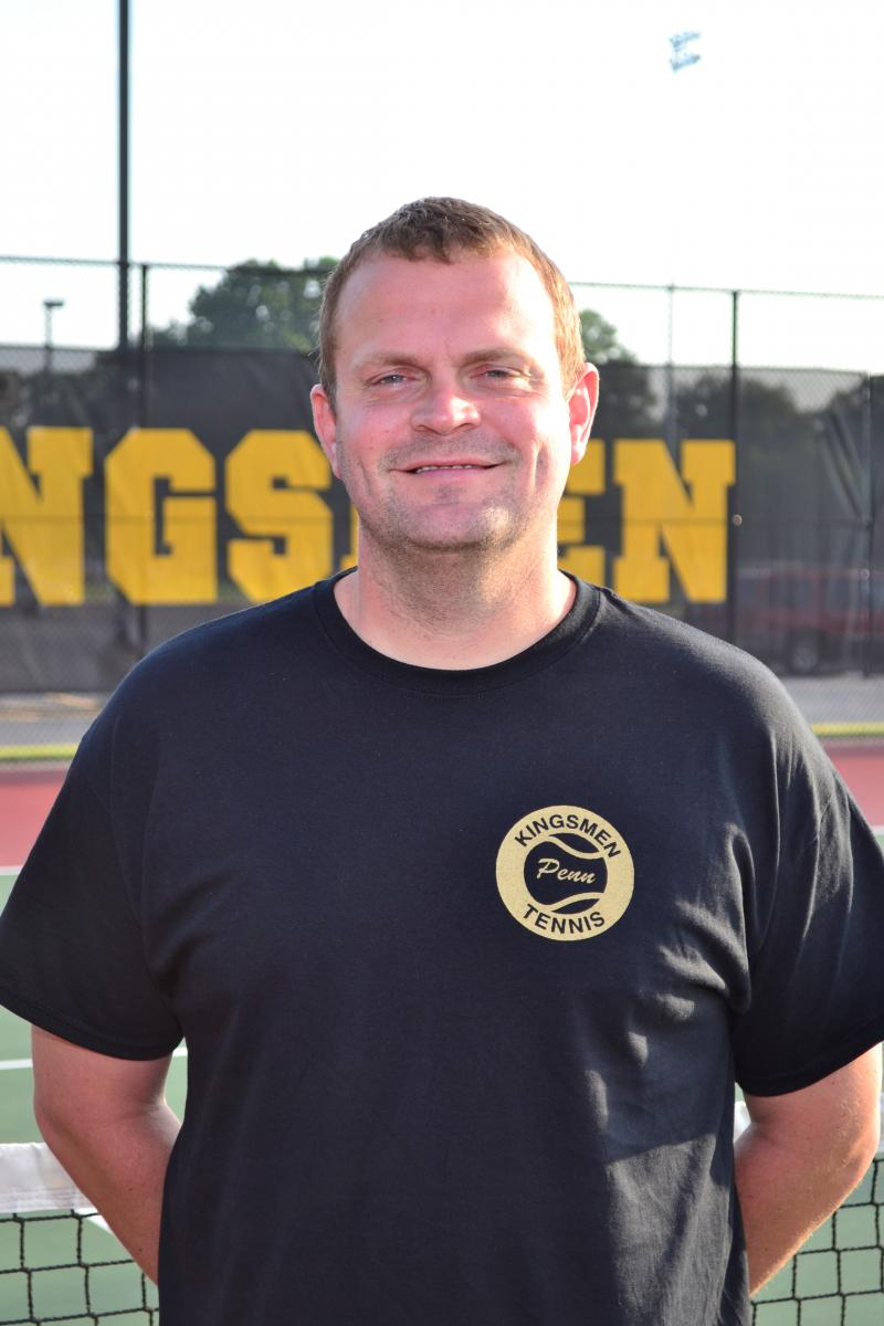 Penn Girls Tennis Head Coach Eric Bowers