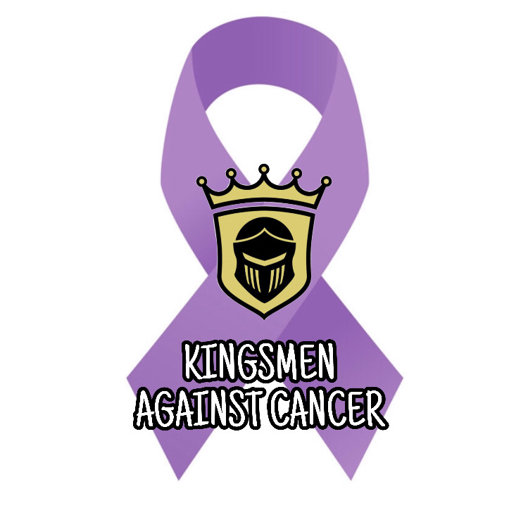 Kingsmen Against Cancer logo