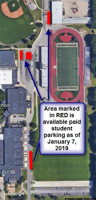 Penn student parking as of 12.19.18
