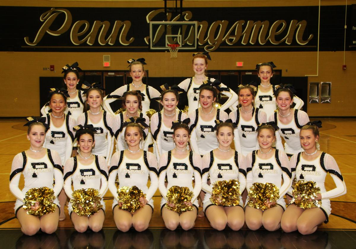 Penn Competition Poms.