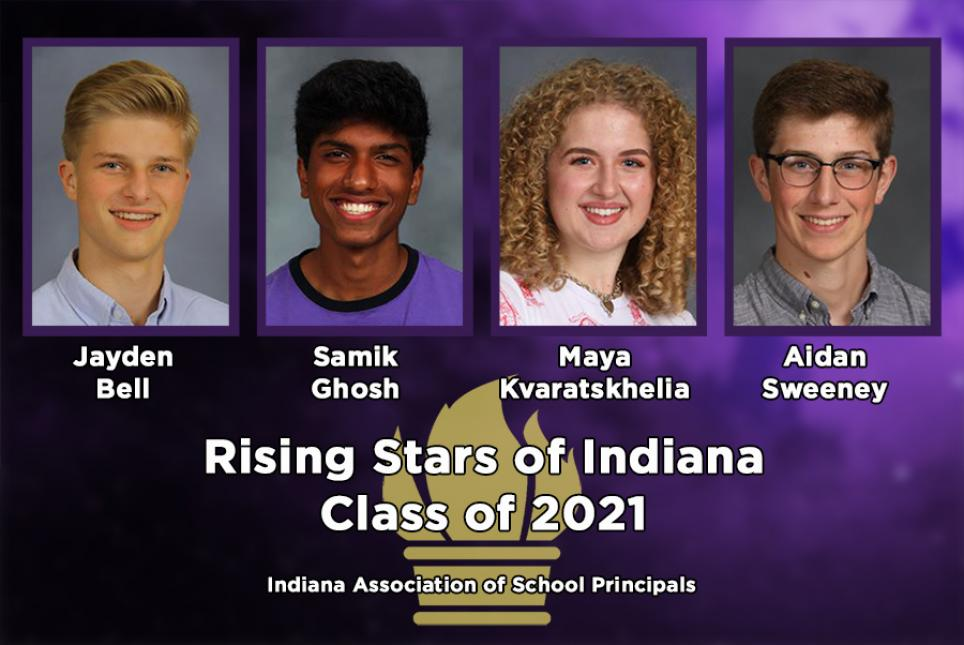 Four Penn students named Rising Stars in Indiana.