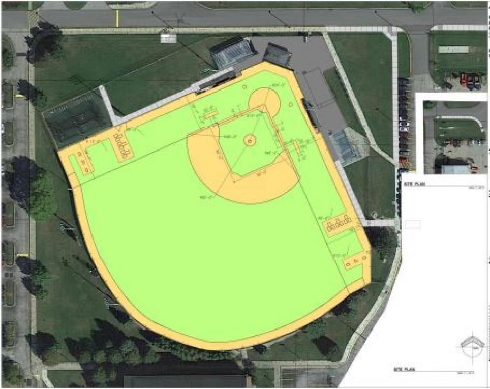 Synthetic Turf is planned for the Penn Baseball Field