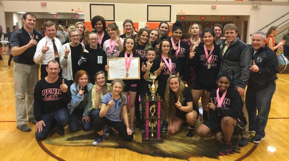 Penn's State Championship Girls Wrestling Team.