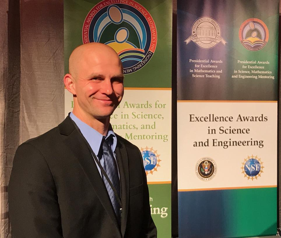 John Gensic PAEMST Award winner