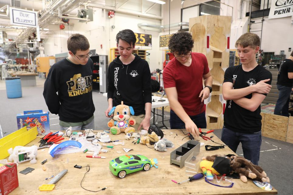 Penn Robotics students working to adapt toys