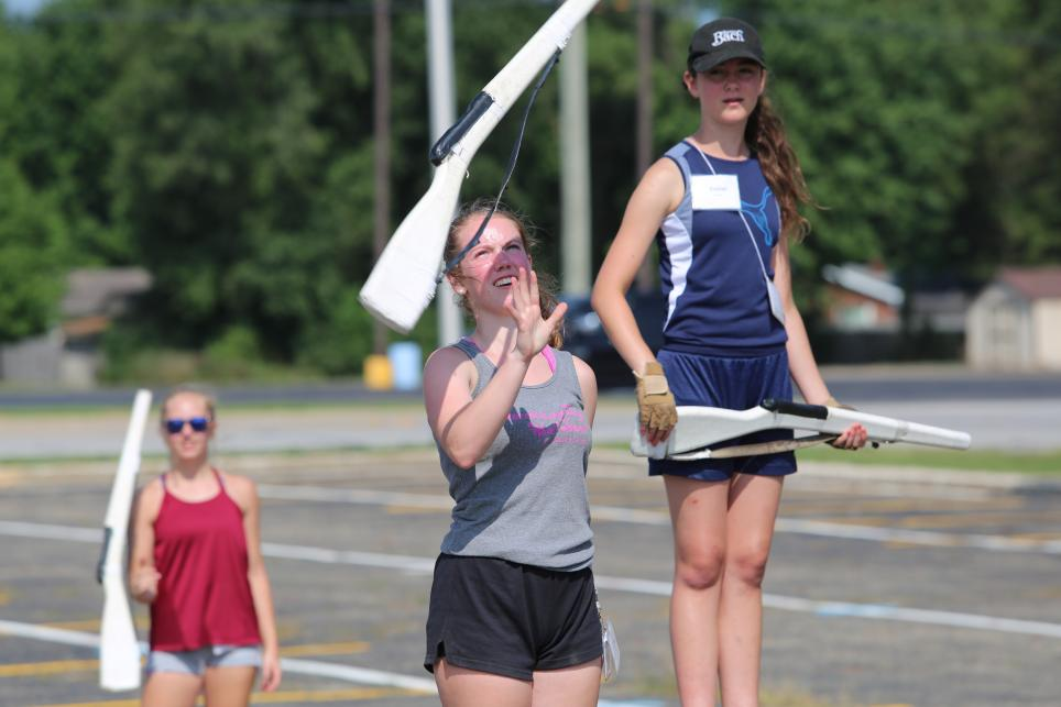 Kingsmen Marching Band Practice Photo Gallery