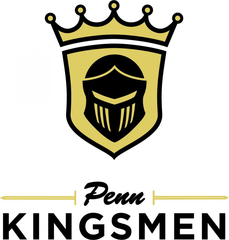 The Penn Kingsmen Athletics logo.