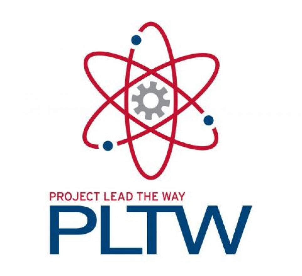 The Project Lead the Way Logo.