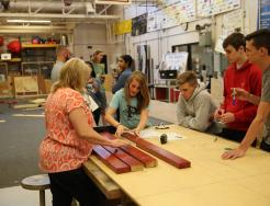 Penn engineering students work on ADEC projects with mentors