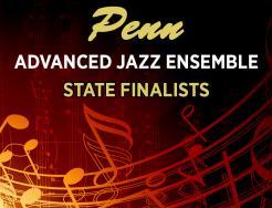 Penn Advanced Jazz State Finalists Graphic Design.