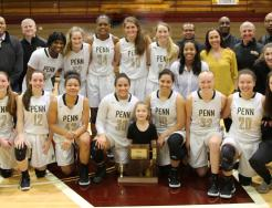 The 2019 Penn Girls Basketball Sectional Championship Team