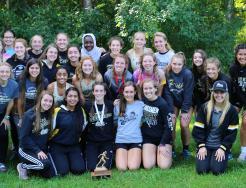 The Penn Girls Cross Country Team.