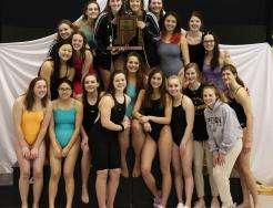 The Sectional Champion Penn Girls Swim/Dive Team.