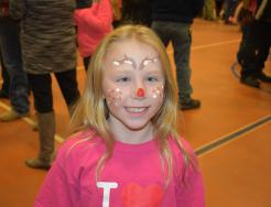 girl with face painting