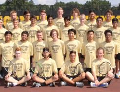 The 2018 Penn Boys Tennis Team.