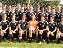 The 2018 Penn Boys Soccer Varsity.