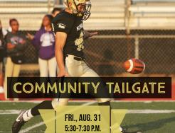 Community Tailgate, Aug. 31, at TCU Freed Field