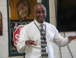 Mr. Derrick White, P-H-M's new Diversity, Equity and Inclusion Officer