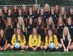 The 2017 Girls Soccer Team.