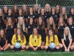 The 2017 Girls Soccer Team.