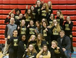 The 2017-2018 Girls Wrestling Team.