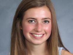 Penn High School student-athete Erin Ludwig