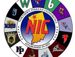 The Northern Indiana Conference logo.