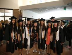 Class of 2019 graduates at Northpoint Elementary Senior Parade (June 4, 2019)