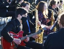 "Penn High School presented ""Evening of Jazz at the Park"" at Mishawaka's Central Park on Thursday, May 13, 2021."