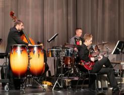 The Penn Advanced Jazz Ensemble plays at last year's Kaleidoscope Concert.