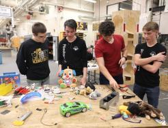 Penn Robotics students working to adapt toys