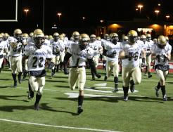 The Penn Kingsmen take the field in the Regional.