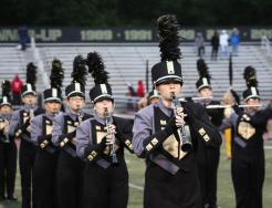 Members of the Penn High School Marching Kingsmen.