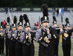 The Penn Marching Band.