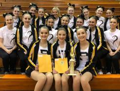 The Penn Dance Team placed first at the Northrop Invitational.