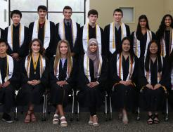 Valedictorians for the Class of 2019.