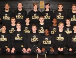 The 2017-2018 Penn Wrestling Team.