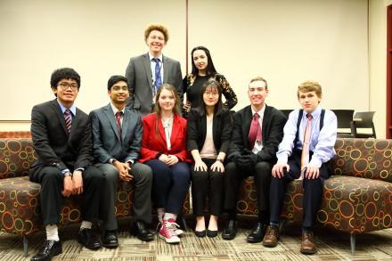 Penn's Speech State Finalists.