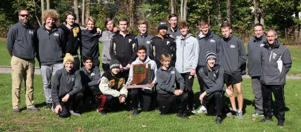 The 2019 Sectional Champion Penn Boys Cross Country Team.