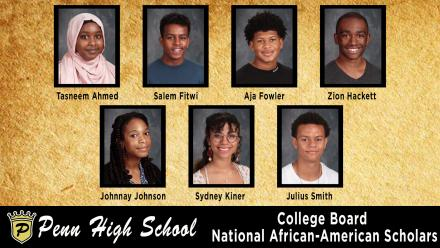 Penn High School students honored by the College Board.