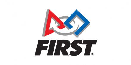 FIRST Robotics logo.