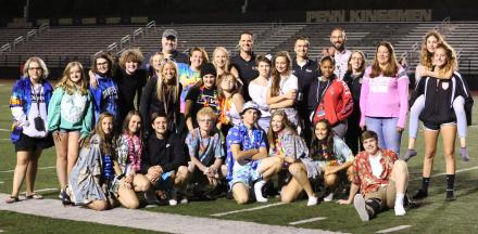 Penn students, teachers and administrators at the annual Freshmen Frenzy.