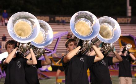 Penn Marching Band.