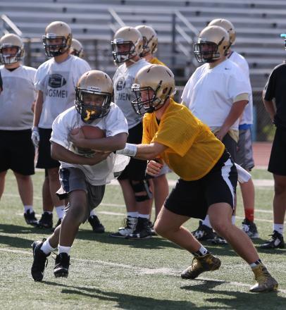 Football Practice Summer 2017