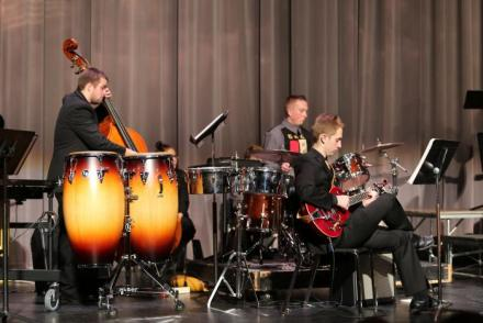 The Penn Advanced Jazz Ensemble plays at last year's Kaleidoscope Concert.