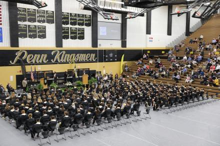 Senior Recognition in Penn's Main Arena May 11, 2020